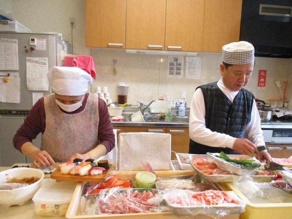 金寿司のご主人と奥様